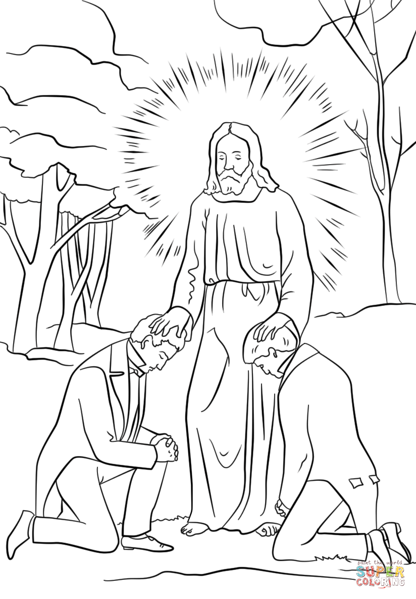 Pin Priesthood-coloring-page-pictures on Pinterest