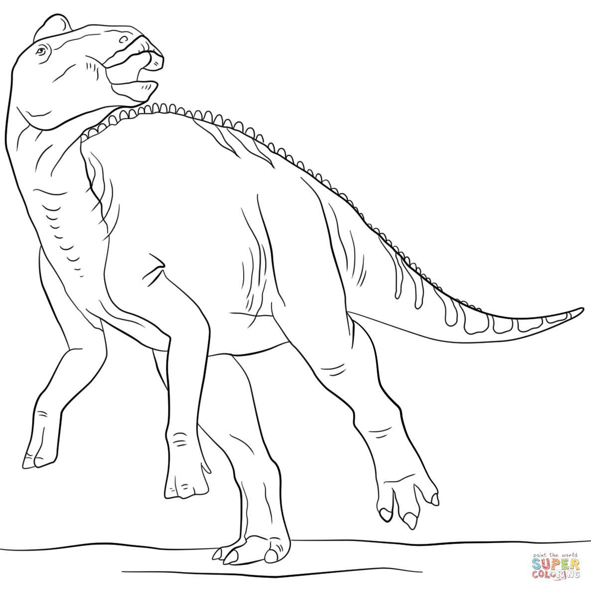Jurassic Park Spinosaurus Coloring Pages Pictures to Pin