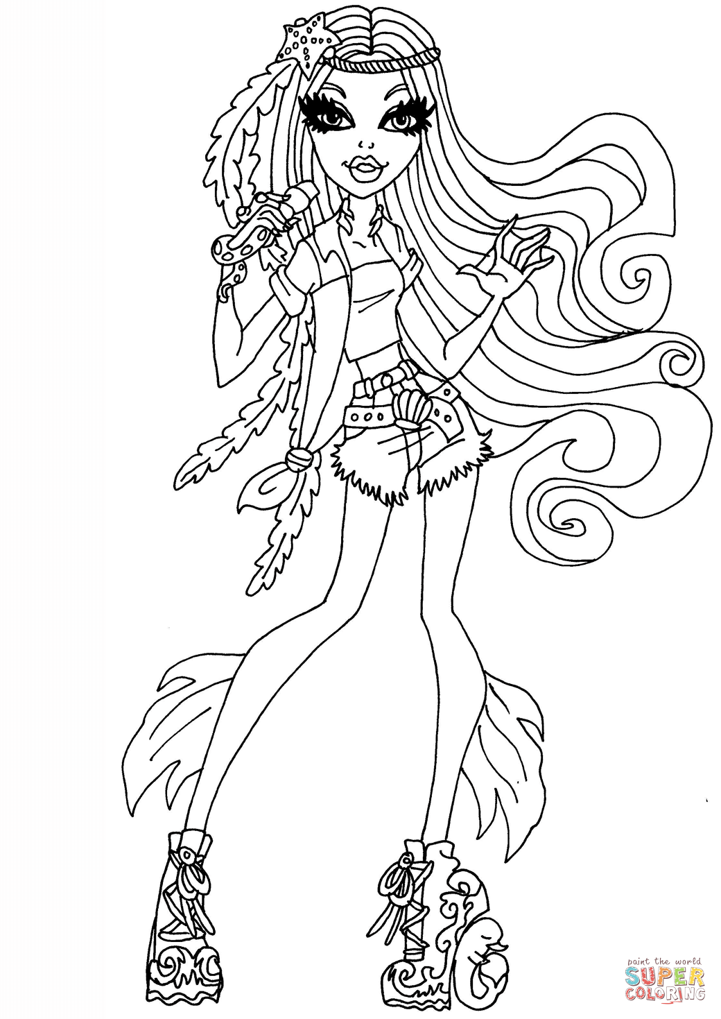 Madison Fear Coloring Page
