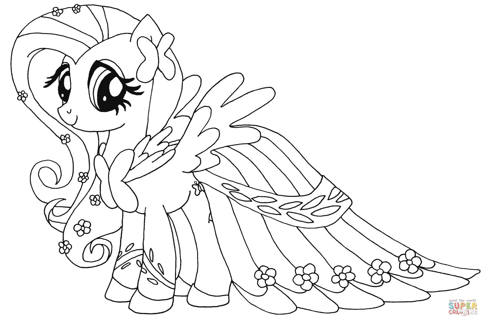 Juegos Para Colorear De My Little Pony. Good Haz Click En