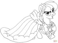 Dibujo de My Little Pony Rainbow Dash para colorear ...