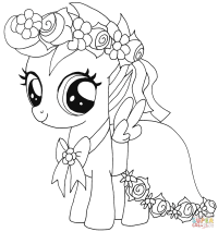 My Little Pony Scootaloo coloring page | Free Printable ...