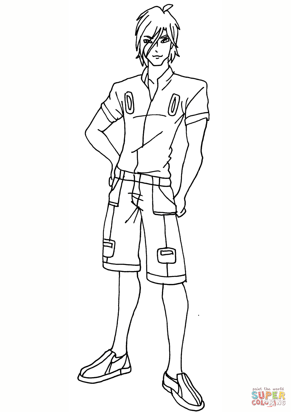 Coloring Pages For Boys Club