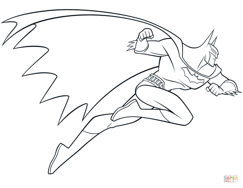 Click The Beware Batman Coloring Pages To View Printable Version Or Color It Online Compatible With Page Free