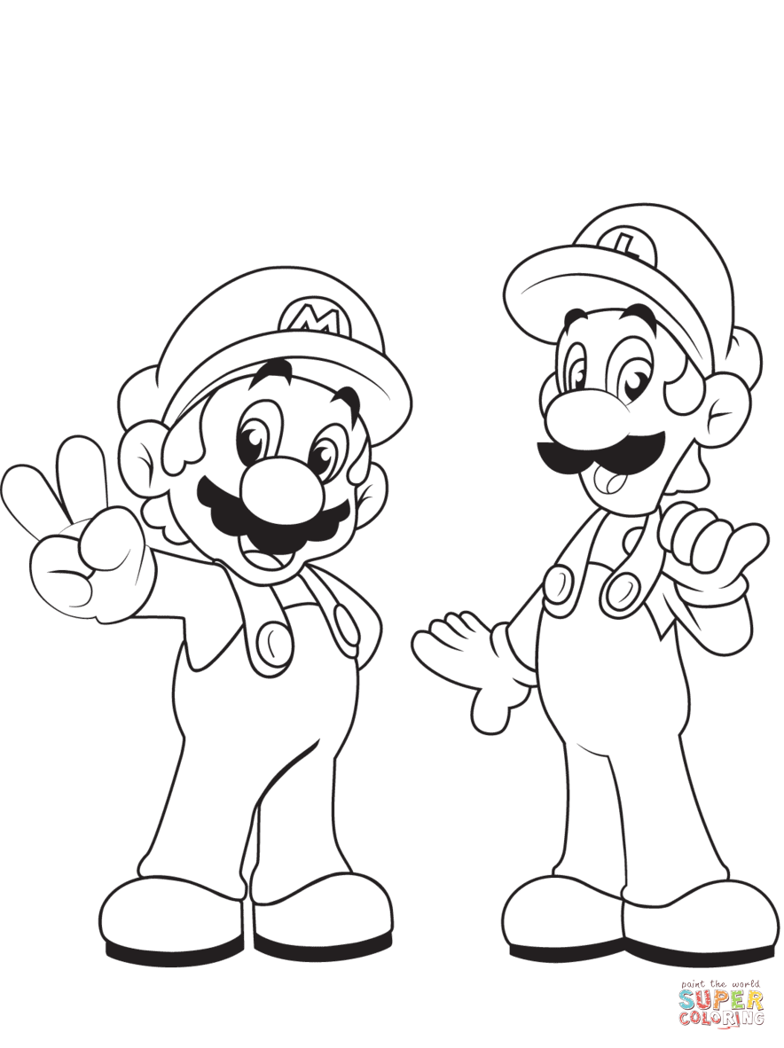 koopalings coloring pages mario bros