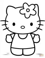 Disegni Hello Kitty Da Colorare E Stampare   Gratis per le ...