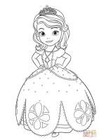 Ausmalbild Prinzessin Sofia   Ausmalbilder kostenlos zum ...
