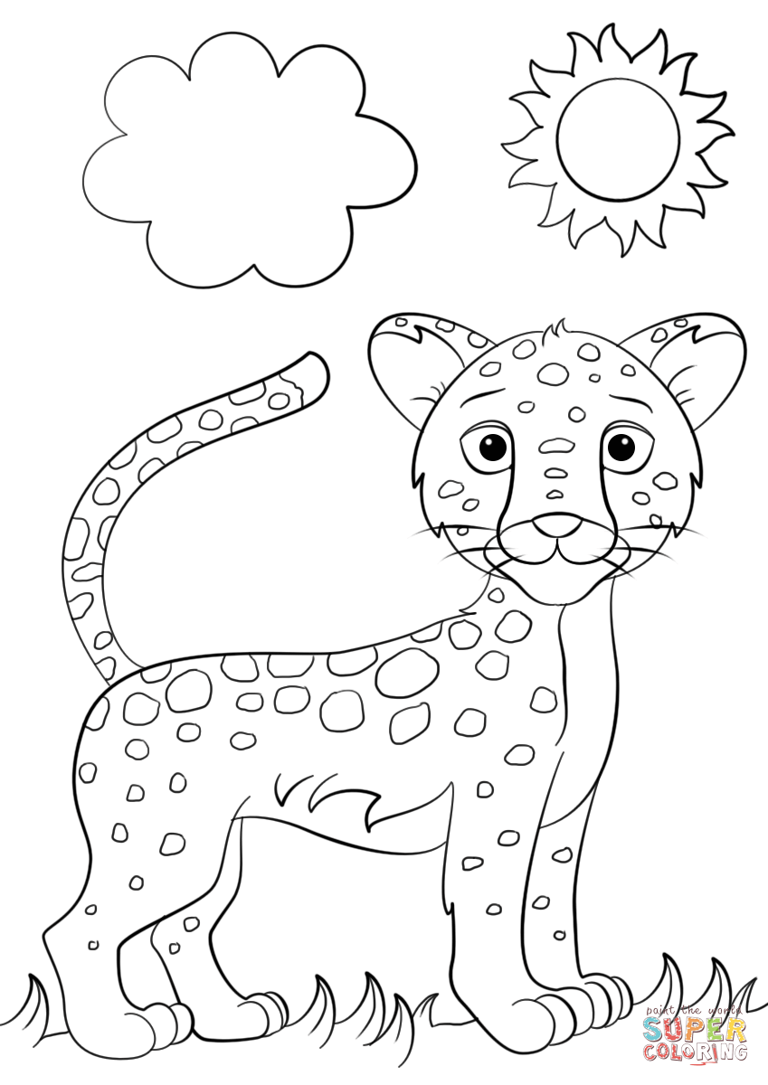 Ausgezeichnet Baby Jaguar Diego Malvorlagen Ideen - Beispiel ...