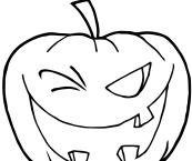 halloween pumpkins to color