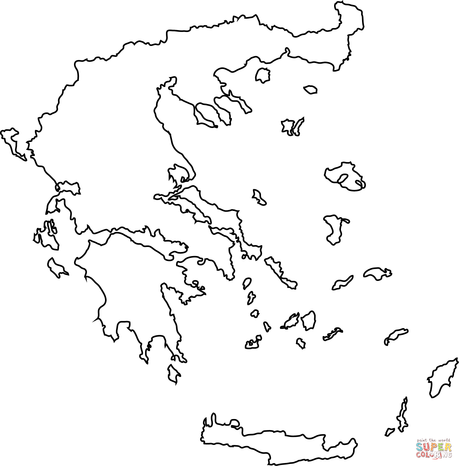 Map Of Gr