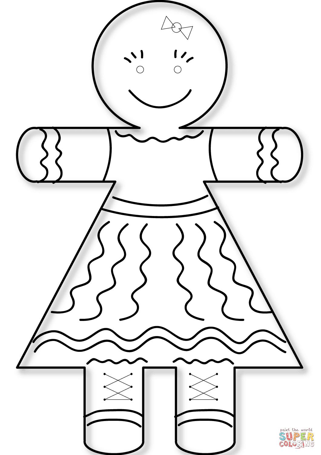 Printable Girl Astronaut Cut Out