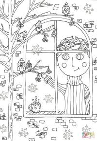 Peter Boy in November coloring page | Free Printable ...