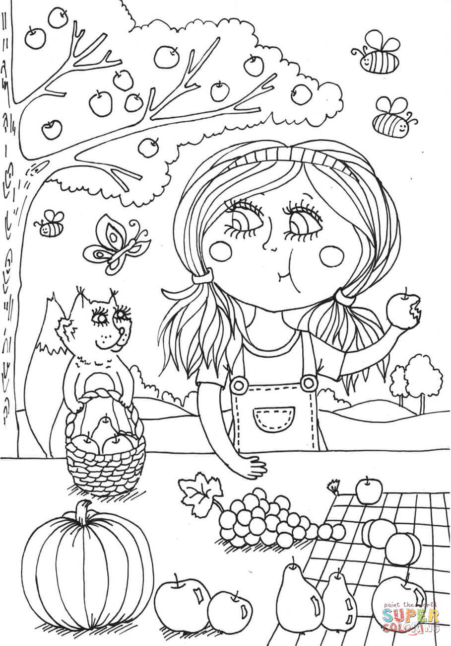 Coloring Pages August 2010 Sketch Coloring Page