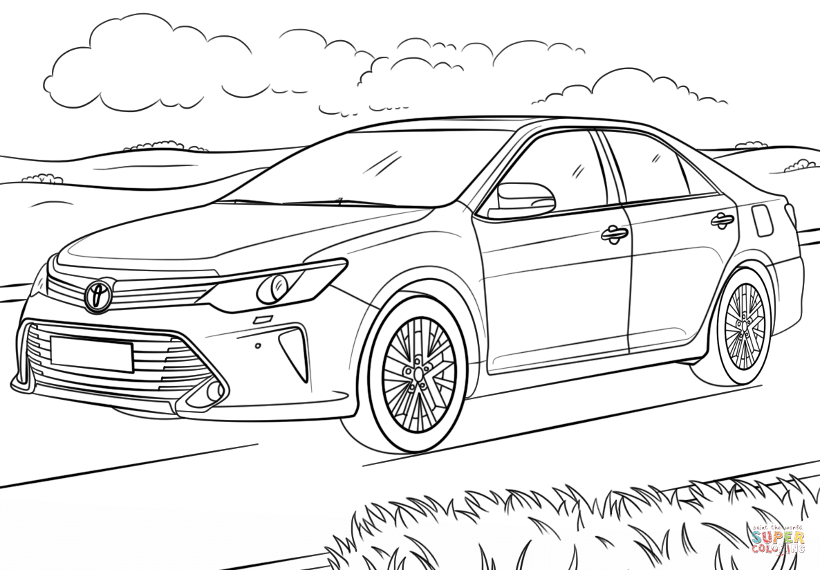 Toyota Hilux Coloring Pages