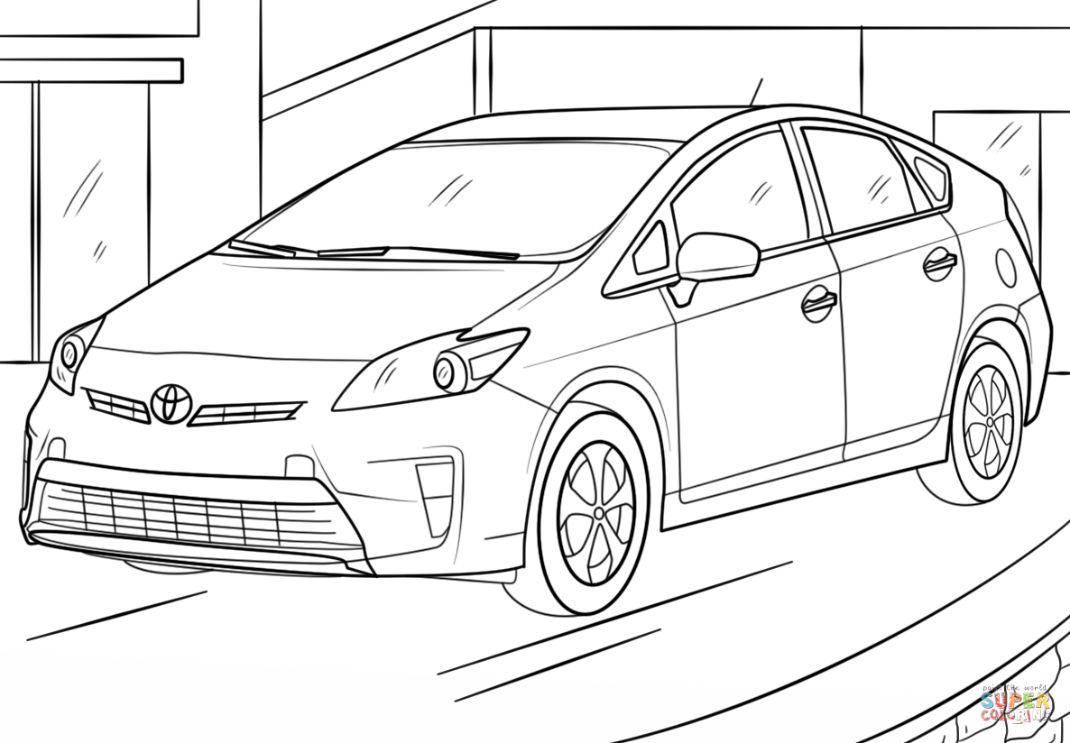 Coloriage Toyota