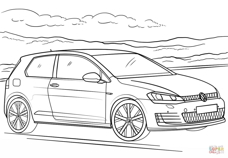 Volkswagen Golf GTI värityskuva