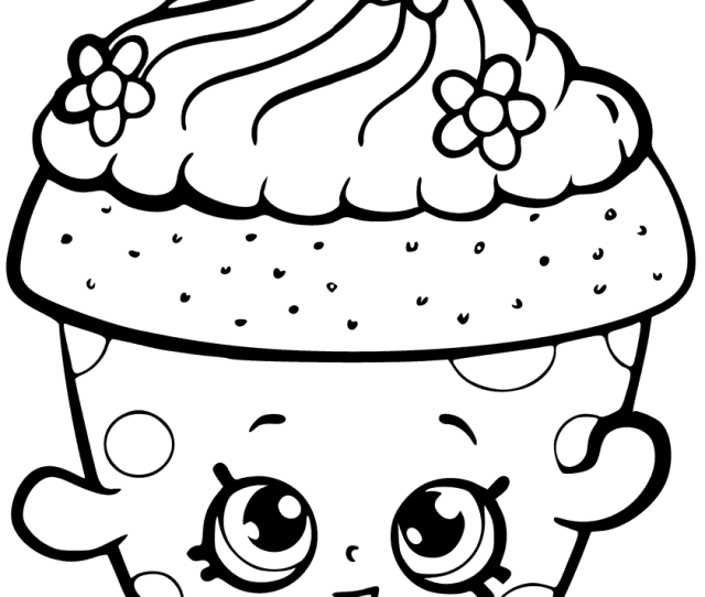 Shopkins Coloring Pages Free Coloring Pages