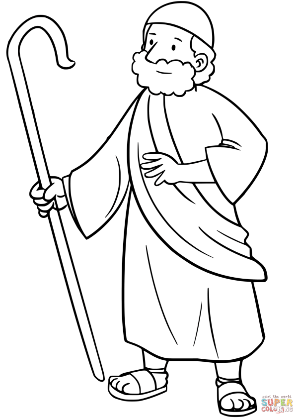 20+ The Israelites And Moses Coloring Page Ideas and Designs