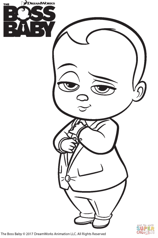 Coloring Pages Baby