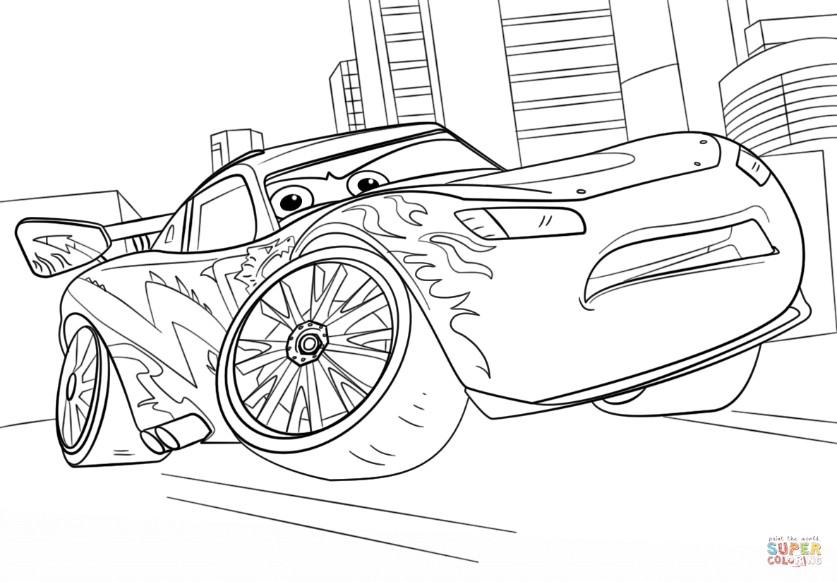 click to see printable version of lightning mcqueen coloring page categories disney cars