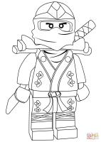 Ninjago Lloyd Green Ninja ZX coloring page   Free ...