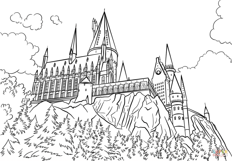 91 Castle Coloring Pages