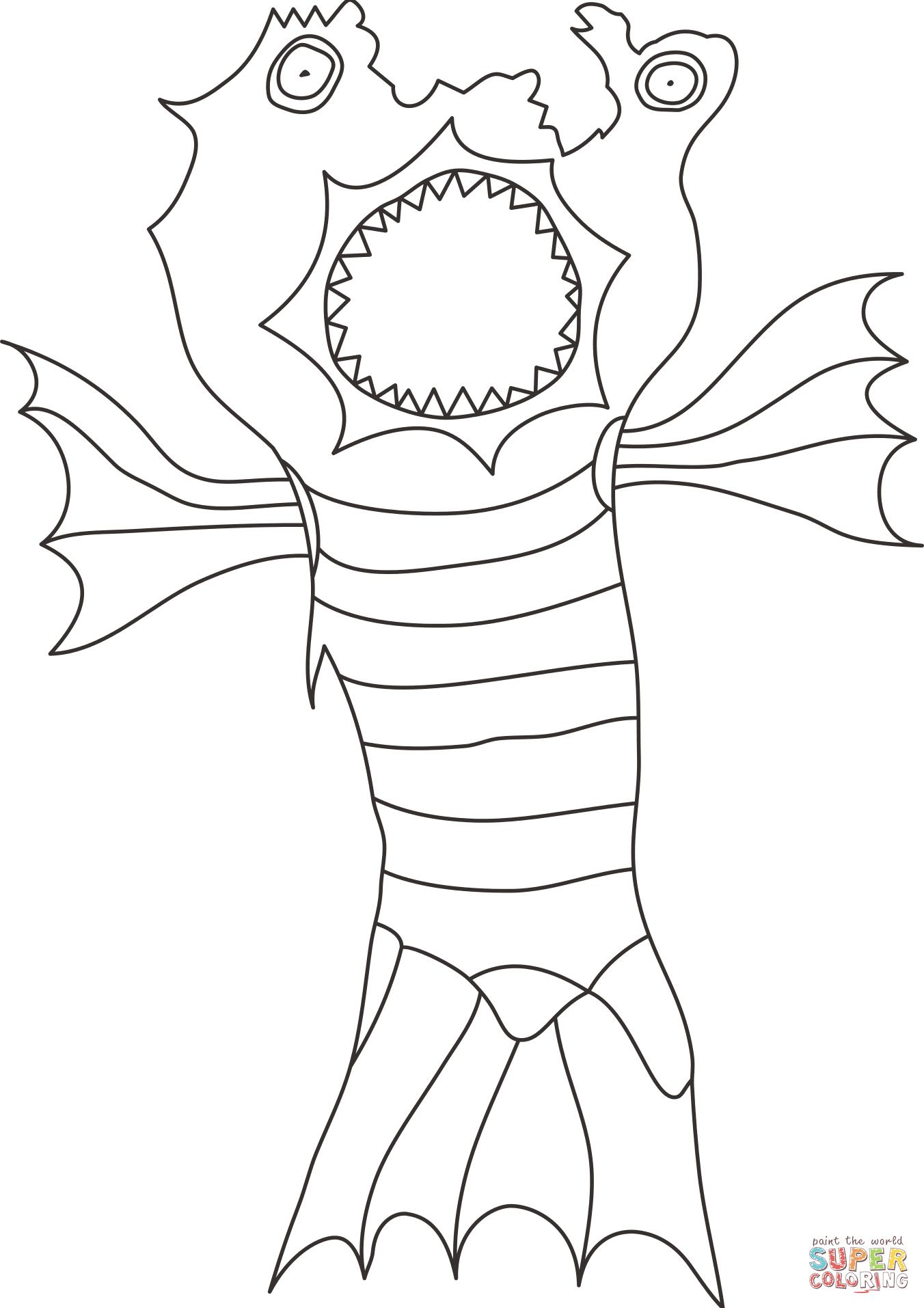 Monster M Larbok