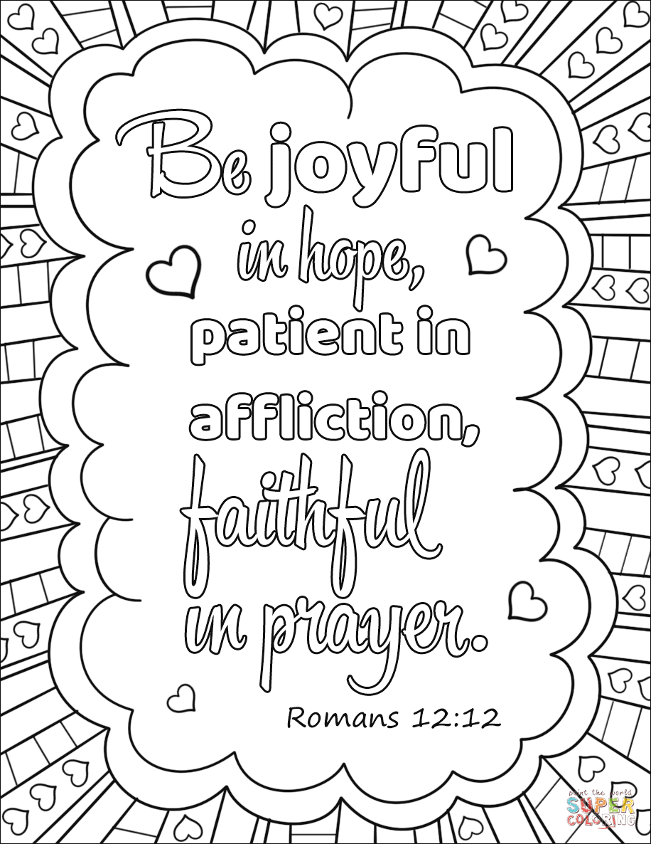 Family Prayer Coloring Page Sketch Coloring Page