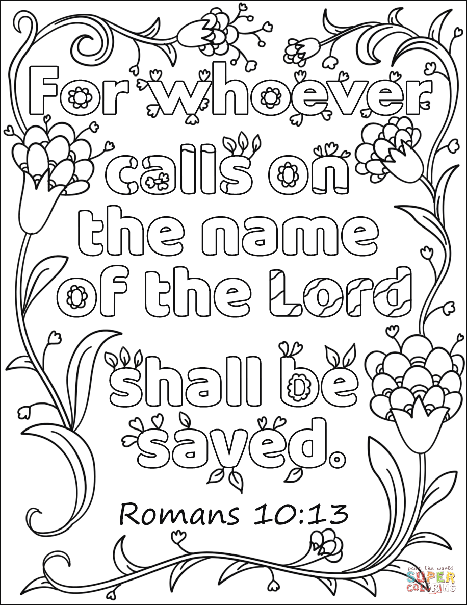 Whoever Calls on the Name of the Lord Shall Be Save