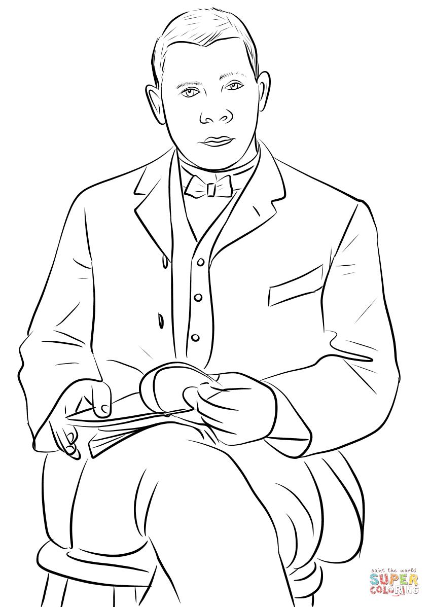 Phillis Wheatley Coloring Page Sketch Coloring Page