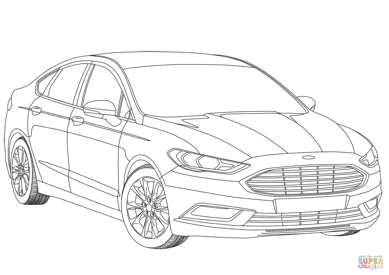 Ford Mondeo Mk V värityskuva
