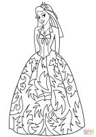 Ausmalbild Prinzessin   Ausmalbilder kostenlos zum ausdrucken