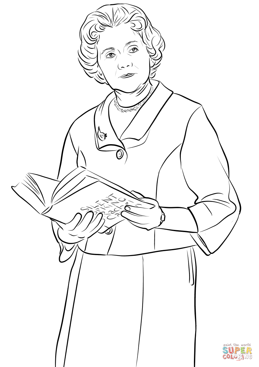 Rachel Carson Coloring Page Coloring Pages
