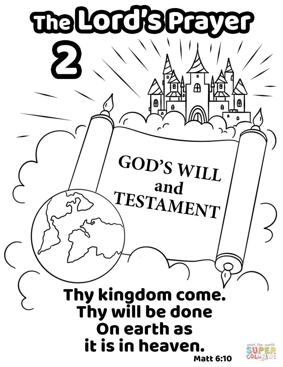 Thy Kingdom Come. Thy Will Be Done on Earth as It is in