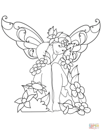 Fairy Coloring Pages | Coloring Pages