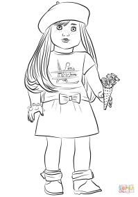 American Girl Grace Thomas coloring page | Free Printable ...