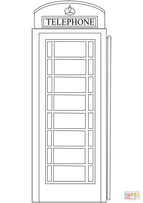 small resolution of red telephone box coloring page free printable coloring pagesclick the red telephone box coloring pages to