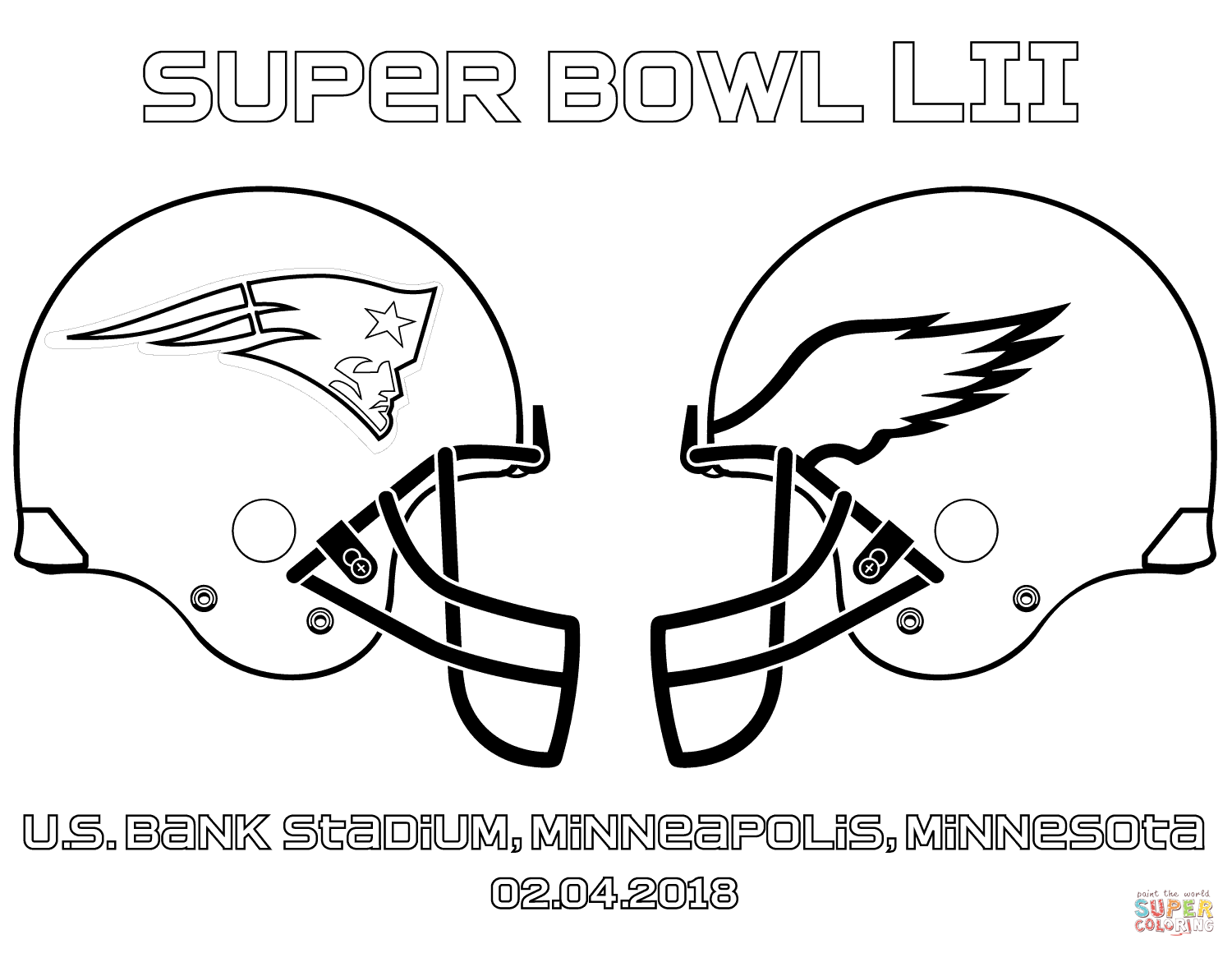 Luxury Nfl Super Bowl Coloring Pages