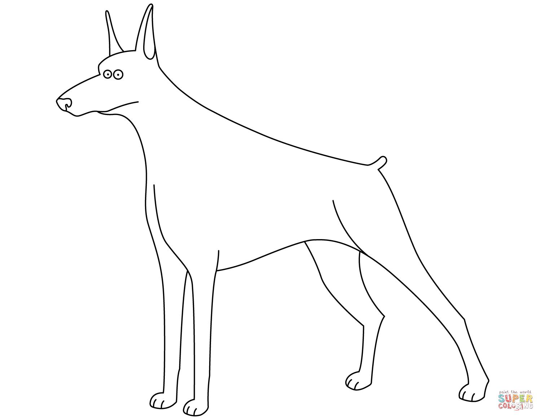 German Shepherd Dog Dot To Dot Printable Worksheet