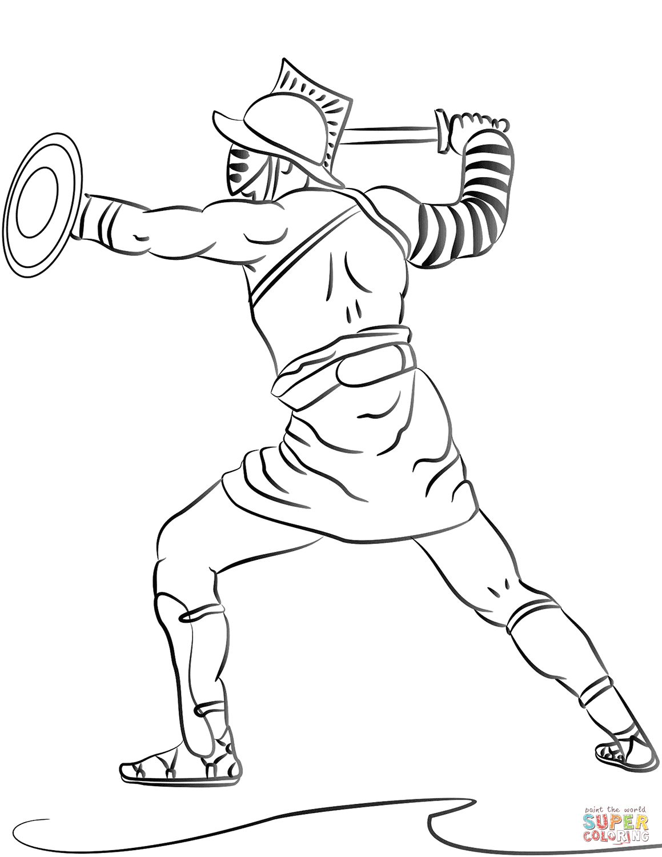 Ancient Roman Shield Worksheet