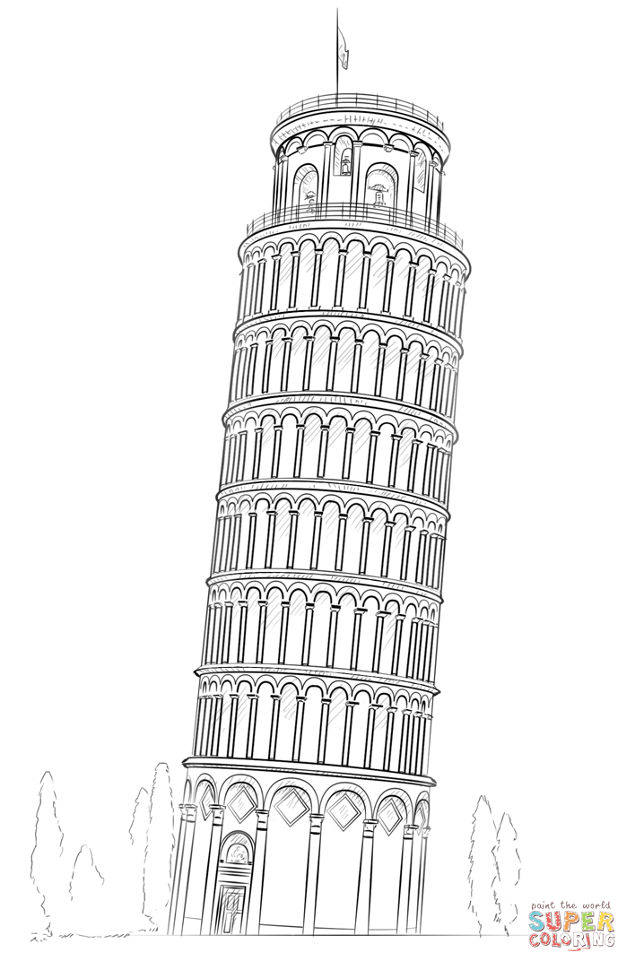 The Leaning Tower Of Pisa Falling Auto Electrical Wiring