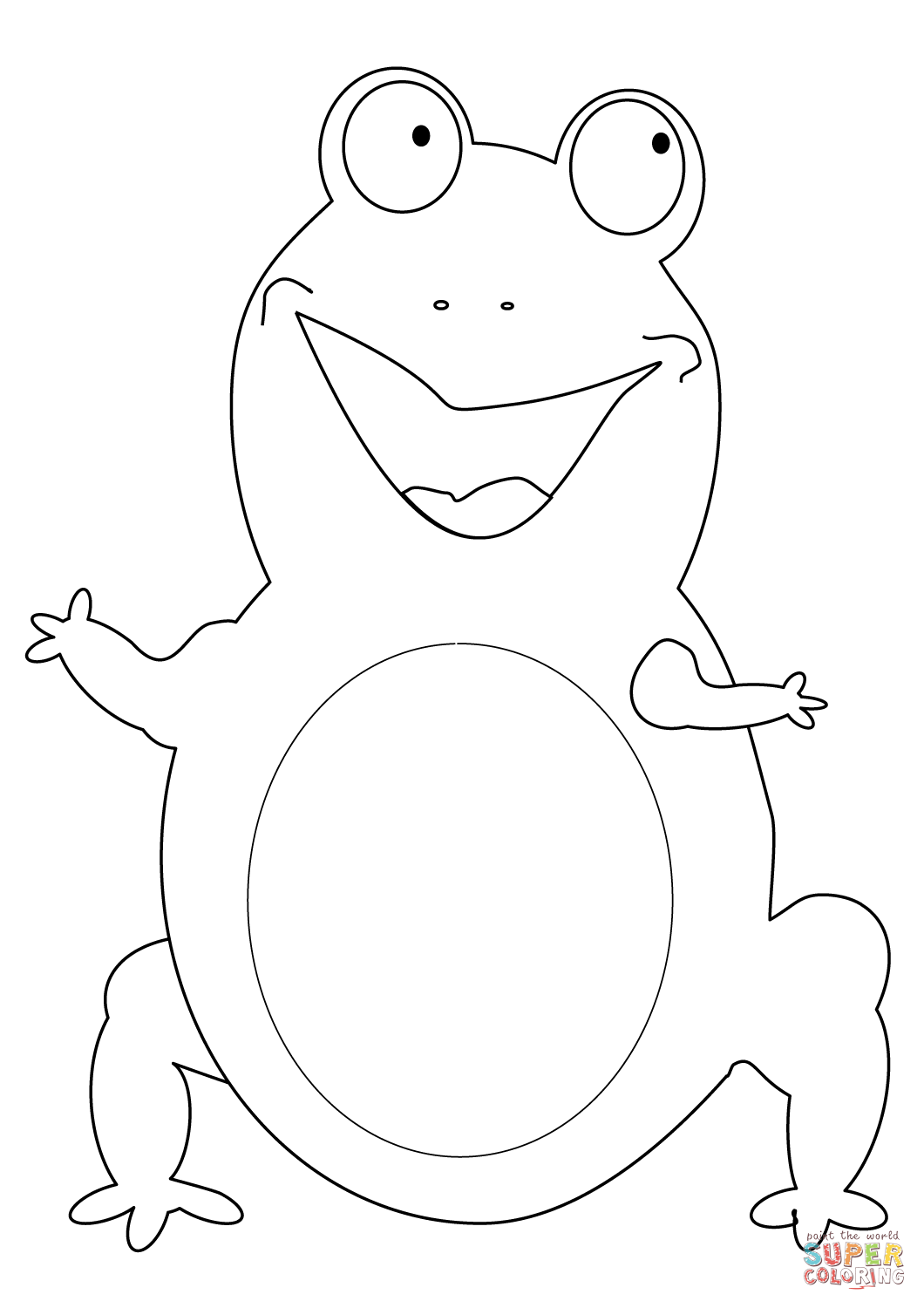 Frog And Toad Together Coloring Pages Public Domain