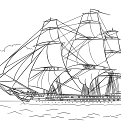 Uss Constitution Diagram Standard Telecaster Pickup Wiring Coloring Page Free Printable Pages