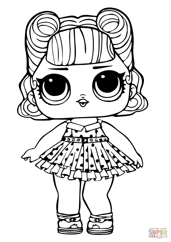 Lol Doll Jitterbug Coloring Page