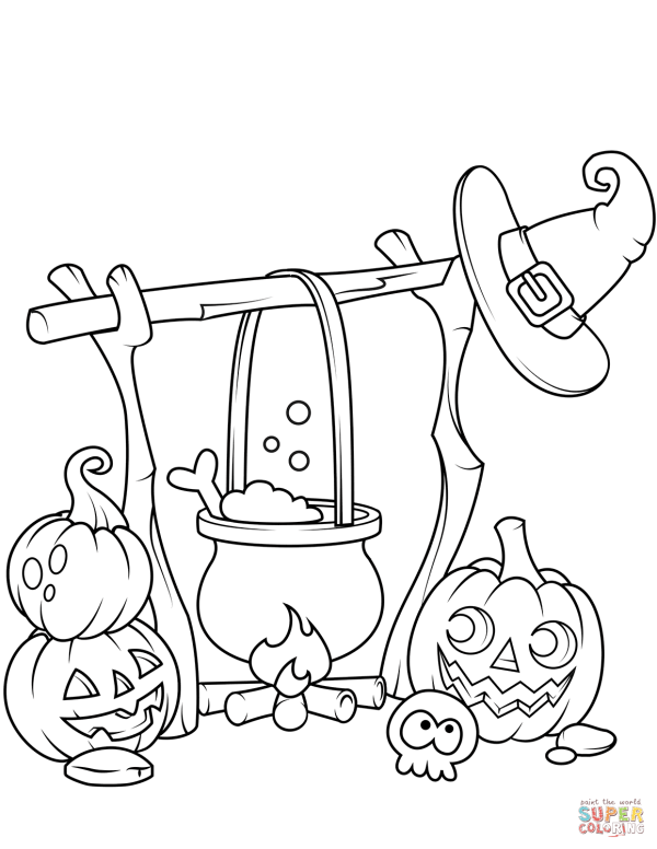 20 Halloween Jack O Lantern Coloring Book Pictures And Ideas On