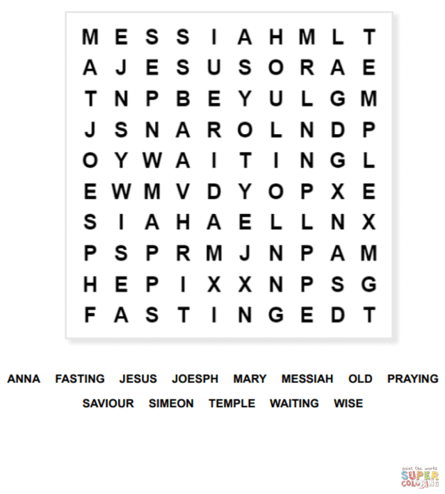 Luke 12.1212 Word Search coloring page  Free Printable Coloring Pages