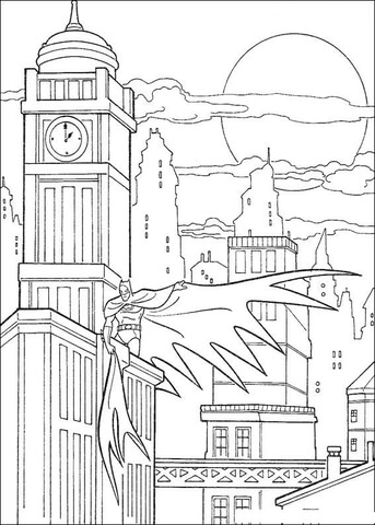 city coloring pages # 10