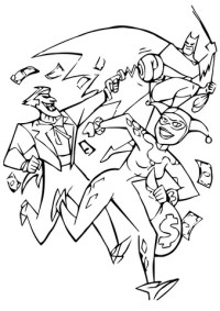 Batman Will Catch His Enemy coloring page | Free Printable ...