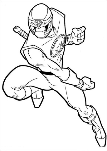 power rangers coloring page # 80