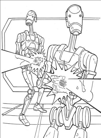 Kleurplaat War Robots Overwatch Ausmalbilder Animaatjes De